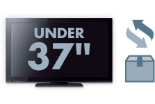 Free 2-Way Shipping for TVs Under 37