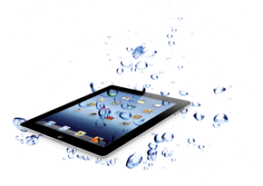 iPad Submerged In Water