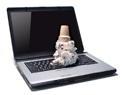 Laptop Ice Cream