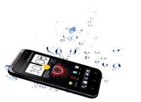 Smartphone Submerged In Water