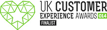 UK Customer Experience Awards Finalist