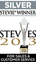 Silver Stevie Winner 11th Stevies 2013 For Sales & Customer Service