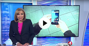 KRON 4's Gabe Slate Visits SquareTrade to Test Out The Droid Turbo 2